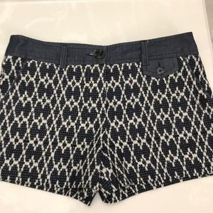Trina Turk Navy Chambray Shorts